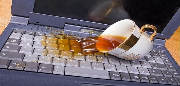 Laptop Anda Tersiram Air
