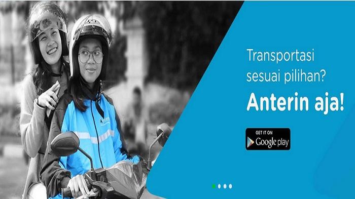 Anterin adalah aplikasi transportasi dan pengiriman/pengantaran barang, pertama di dunia yang menggunakan metode lelang harga.