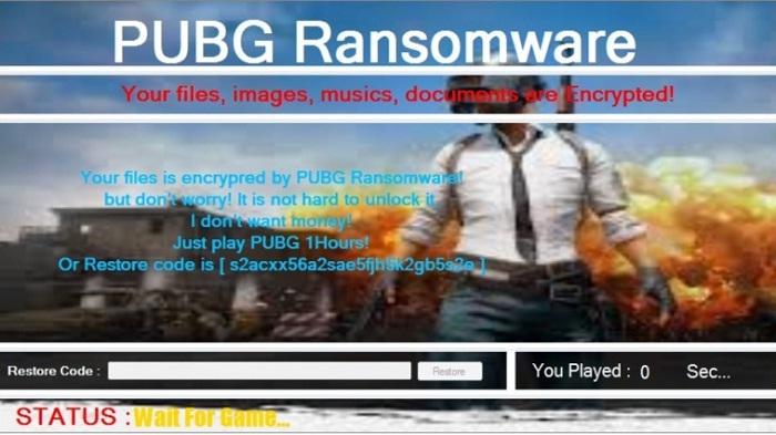 Ransomeware Ini Haruskan Korban Main Game PUBG Untuk Decrypt File Yang Di Sandera