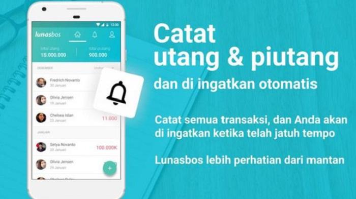 LunasBos, Aplikasi Pengingat Masalah Utang Piutang