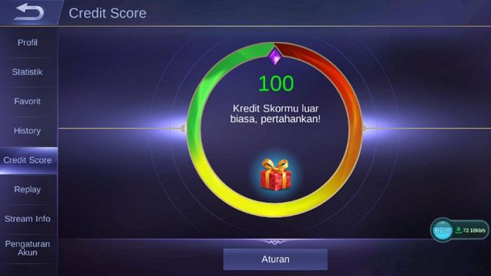 Tips Meningkatkan Credit Score Di Mobile Legends