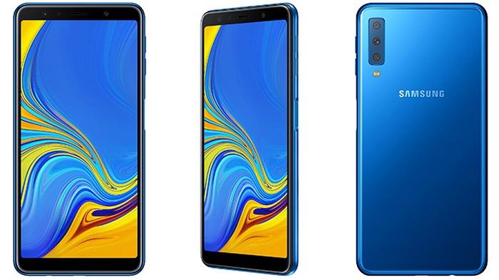 Dibekali Dengan 3 Kamera Utama, Ini Spesifikasi Lengkap Samsung Galaxy A7