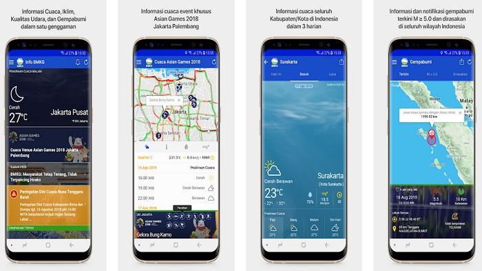 Cari Tahu Informasi Gempa & Prakiraan Cuaca Terkini Dengan Aplikasi Info BMKG