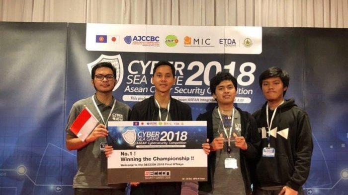 Kalahkan Thailand, Hacker Indonesia Raih Gelar Juara Cyber Sea Game 2018