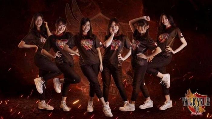 Rambah Dunia Game, Grup Idol JKT48 Bentuk Tim Esports Valkyrie48