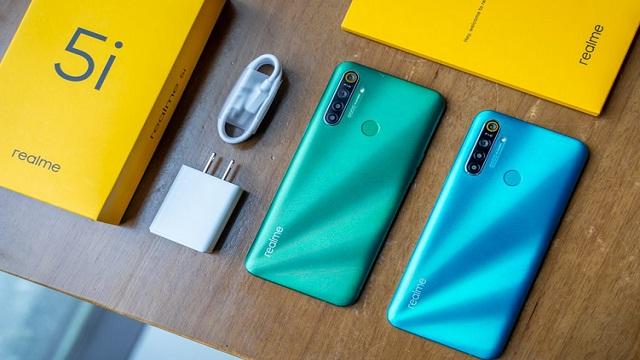 Realme 5i, Harga Cuma Sejutaan RAM 3GB dan 4 Kamera