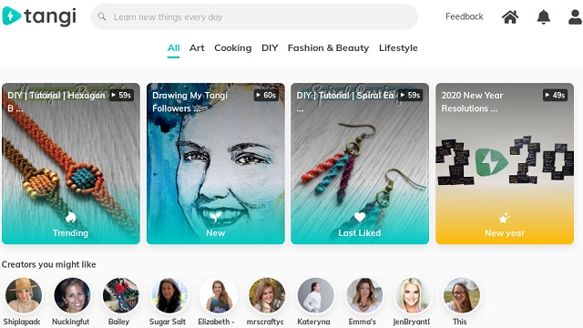 Tangi, Aplikasi Pesaing TikTok Besutan Google