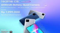 Realme C15 Holiday Edition Resmi Hadir di Indonesia