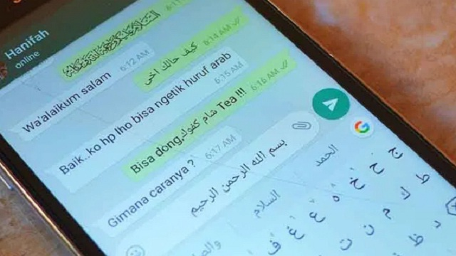 Begini Cara Membuat Tulisan Arab di WhatsApp, Ternyata Mudah