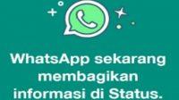 Benarkah Status WhatsApp Curi Data Rekening Bank ? Ini Faktanya