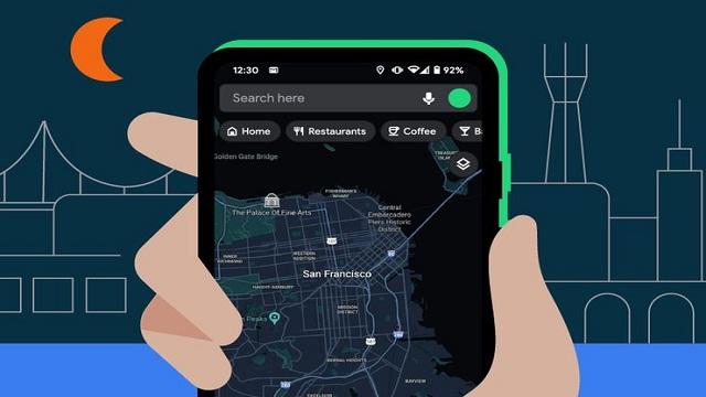 Google Maps Android Sudah Bisa Gunakan Dark Mode