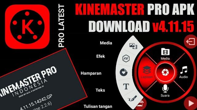 Download Kinemaster Pro Mod Indonesia Tanpa Watermark