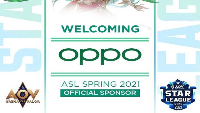 Peserta Turnamen AOV League Star 2021 Bakal Pakai Oppo Reno5 5G